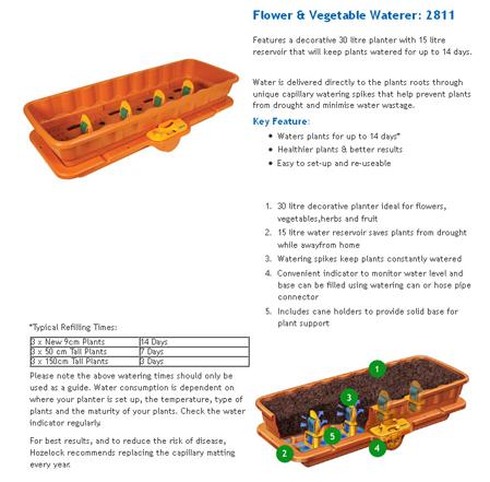 Hozelock – Flower Vegetable Waterer