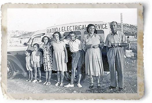 Emmanuel Calleja & family